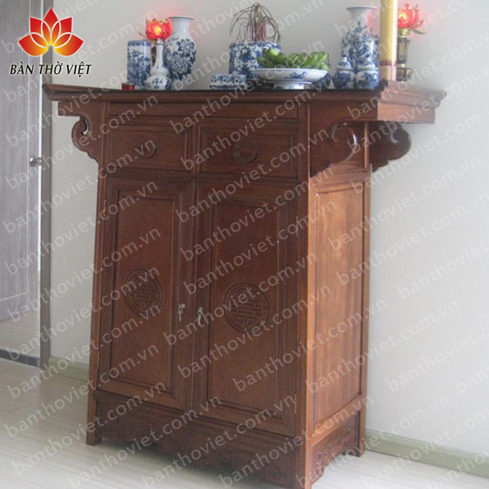 Chọn tủ thờ mini dựa trên nhu cầu thực tế