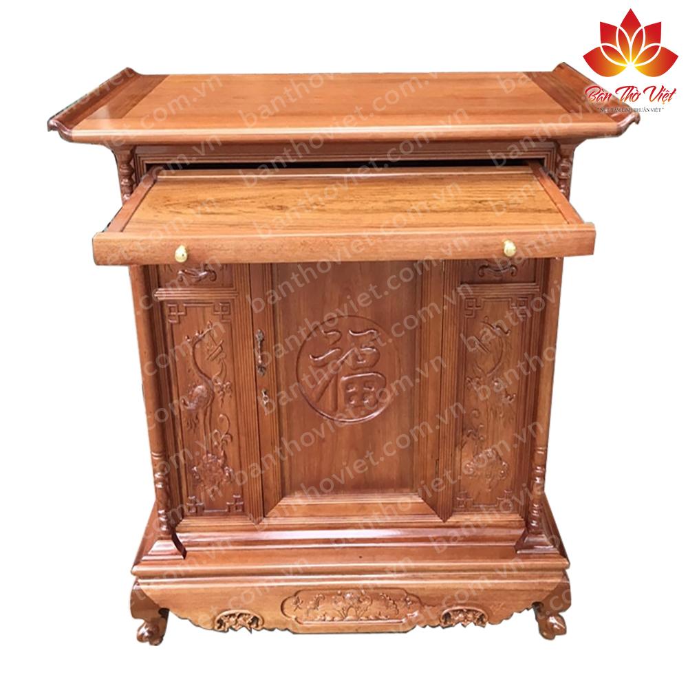 Một số mẫu tủ thờ gỗ dâu đẹp - Chuẩn phong thủy