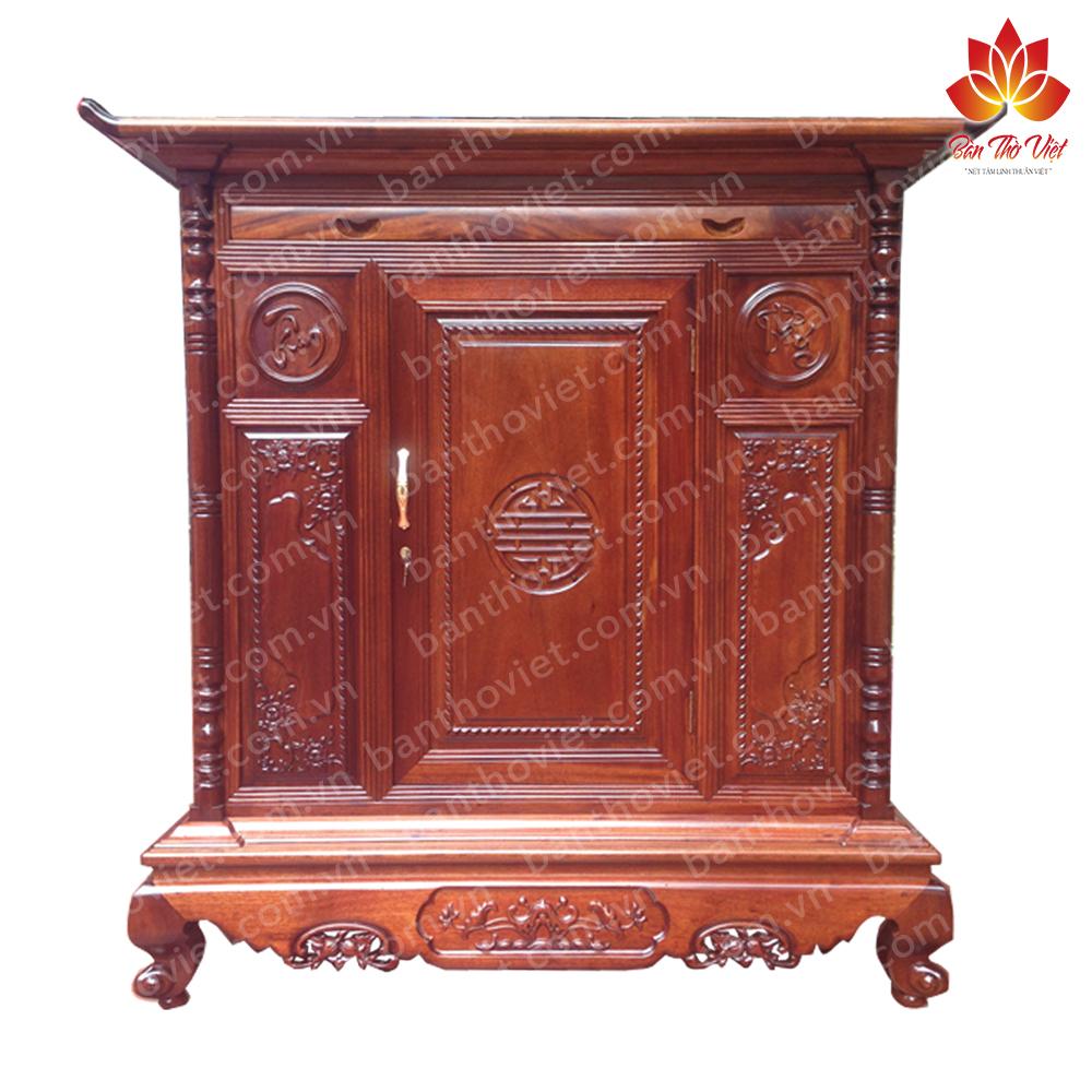 Một số mẫu tủ thờ gỗ xoan đào đẹp