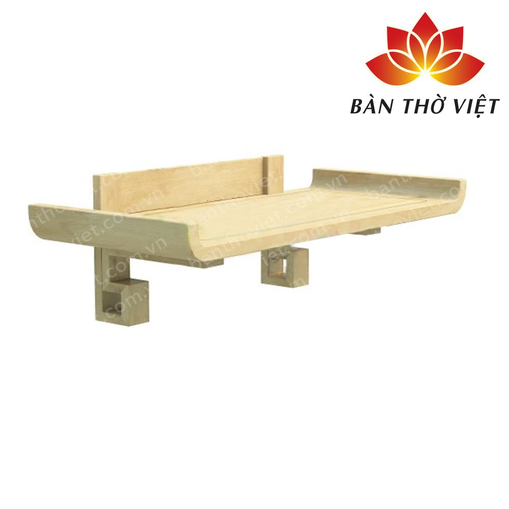 Một số mẫu bàn thờ treo gỗ xoan đào đẹp, giá rẻ