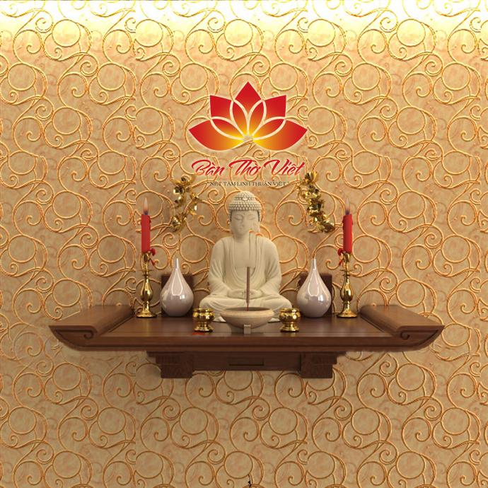 Lựa chọn kiểu dáng và kích thước bàn thờ treo tường hiện đại thích hợp.