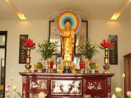 Lưu ý khi đặt tủ thờ Phật Bà Quan âm