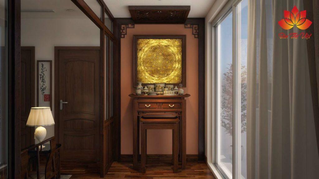 Những nguyên tắc vàng khi chọn vị trí kê tủ thờ trong nhà