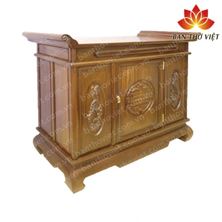 7 Mẫu tủ thờ gỗ dổi hiện đại - Sang trọng Nhất 2019