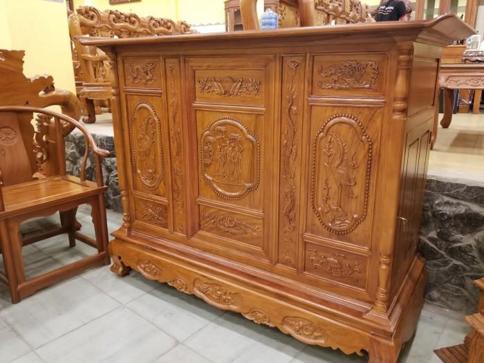 Sản phẩm tủ thờ cổ được ưa chuộng do Bàn thờ Việt cung cấp có rất nhiều tiện lợi