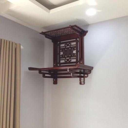 Các đặc điểm và tiện ích của bàn thờ treo hiện đại